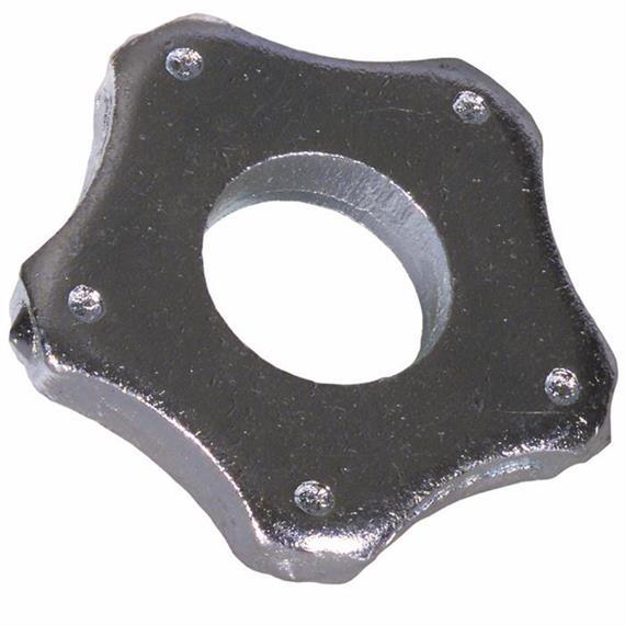 Zestaw ostrzy pięciokątnych ok. 42 x 6 mm pasujących do Von Arx VA 25 S
