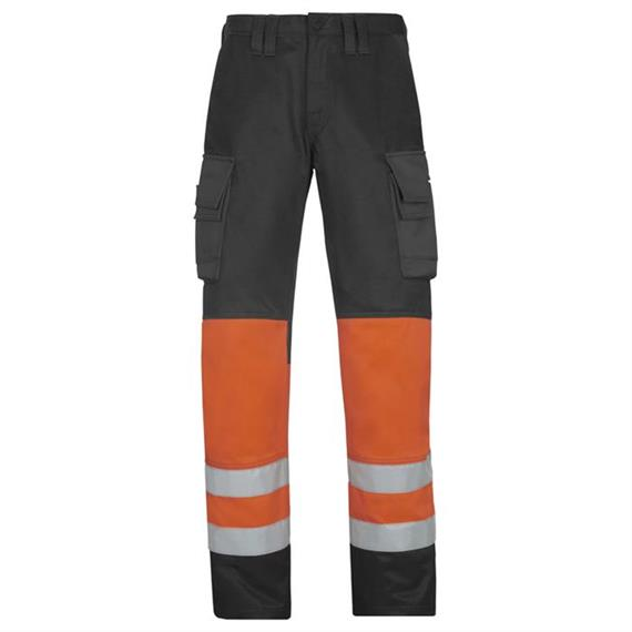 Calças de cintura alta iv Vis classe 1, laranja, tamanho 252