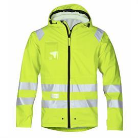 Casaco de chuva HV, PU, tamanho XL