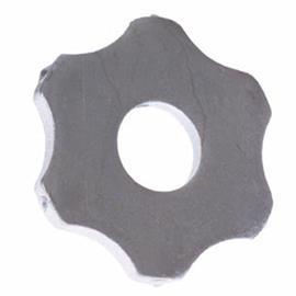 Conjunto de lâminas hexagonais aprox. 54 x 6 mm adequado para Von Arx VA 25 S