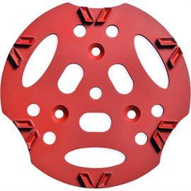 Disco diamantado 300 mm V12 vermelho