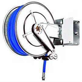 Enrolador de mangueiras em aço inoxidável AISI304