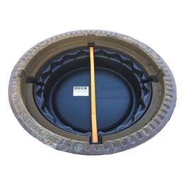 Filtro odorífero de carvão ativado para caixas de visita Viatop LW 600 mm