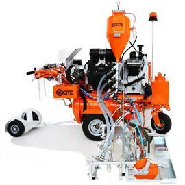 L 120 Máquina de marcação por jacto de ar com accionamento hidráulico para marcações largas