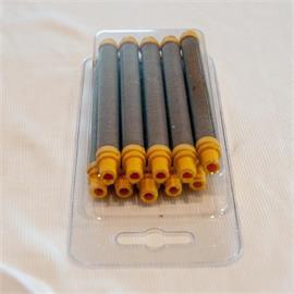 Pistolas de pintura filtro plug-in de 100 mesh (amarelo)