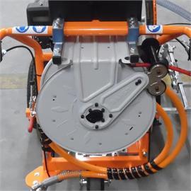 Suporte para o enrolador de mangueiras para o AR 30 Pro