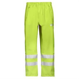 Pantaloni de ploaie HV, PU, mărimea M