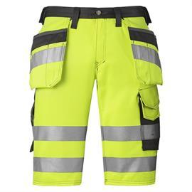Pantaloni scurți HV galben cl. 1, mărimea 44