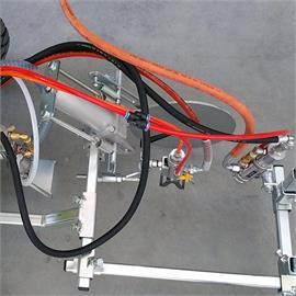 Suspensie pentru pistoale pneumatice (o țintă)