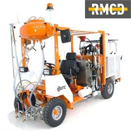 CMC AR 500 - Stroj na značenie ciest s rôznymi možnosťami konfigurácie