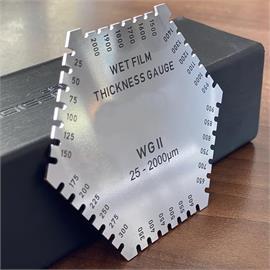 Hrebeň na meranie mokrého filmu WG 2