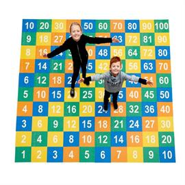 Značka MeltMark na detské ihrisko - tabuľka násobenia