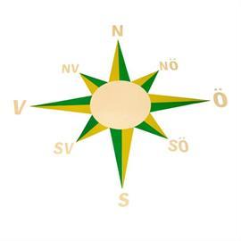 Značka na detské ihrisko MeltMark - Kompas
