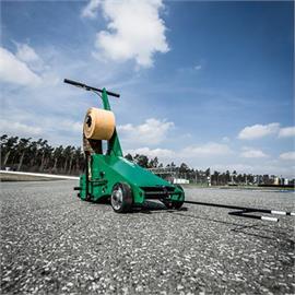 Anordning för folieläggning Road Taper
