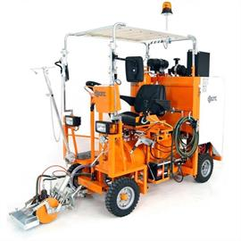 L 150 luftspridningsmaskin för åkande luftspruta