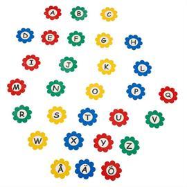 MeltMark lekplatsmärkning - Alfabet blommor A till Ö