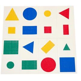 MeltMark märkning av lekplatser - Geometrier