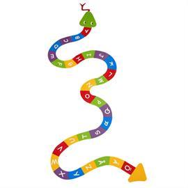 MeltMark Markering av lekplatser - Alfabet orm A till Ö